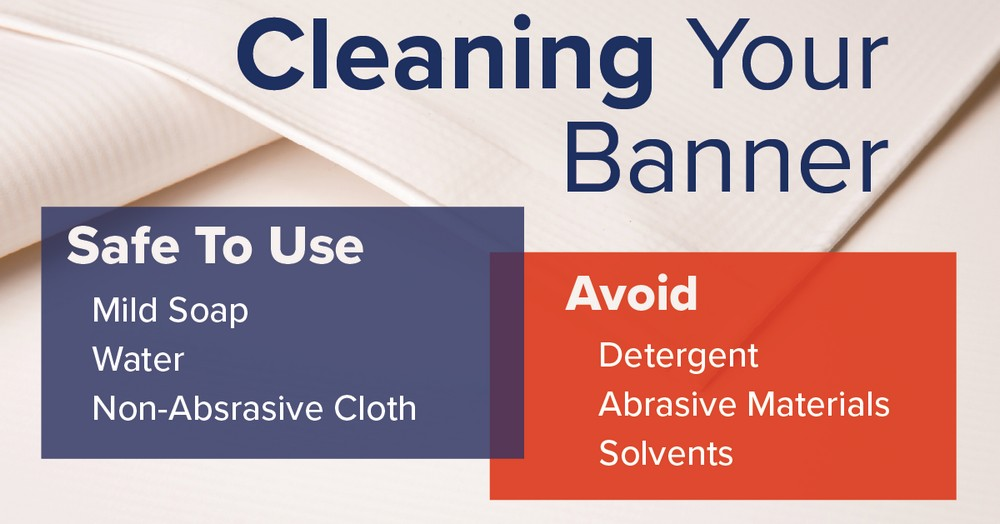 How to Clean you Banner