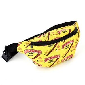 Fanny Pack sublimation full color waist running sports bag